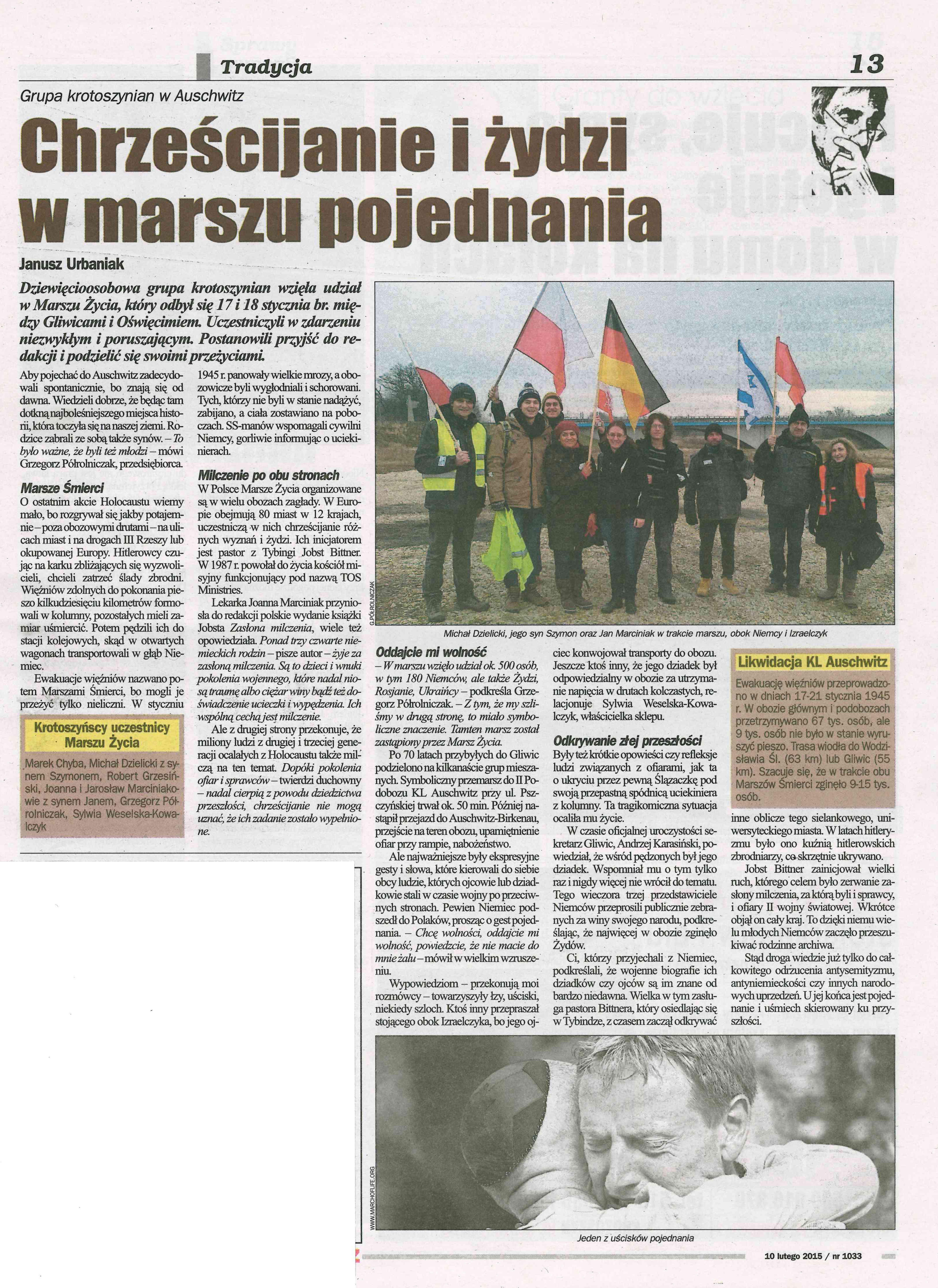 gliwice marsz 2015