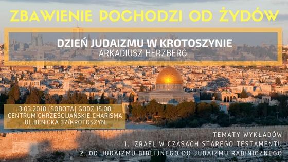 Zbawienie pochodzi od Żydów - Krotoszyn konferencja